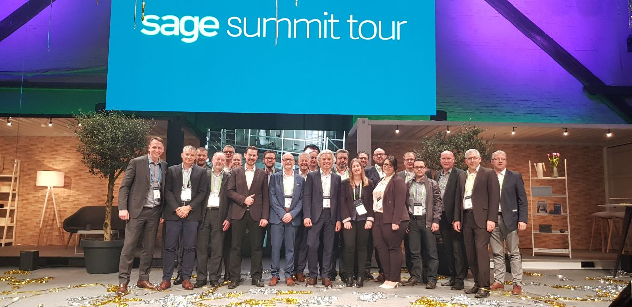 Sage Summit Tour 2018 in Hamburg